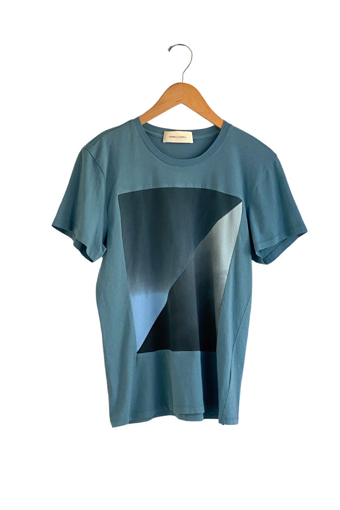 Correll Correll Diagonal Square T Shirt- multiple colors