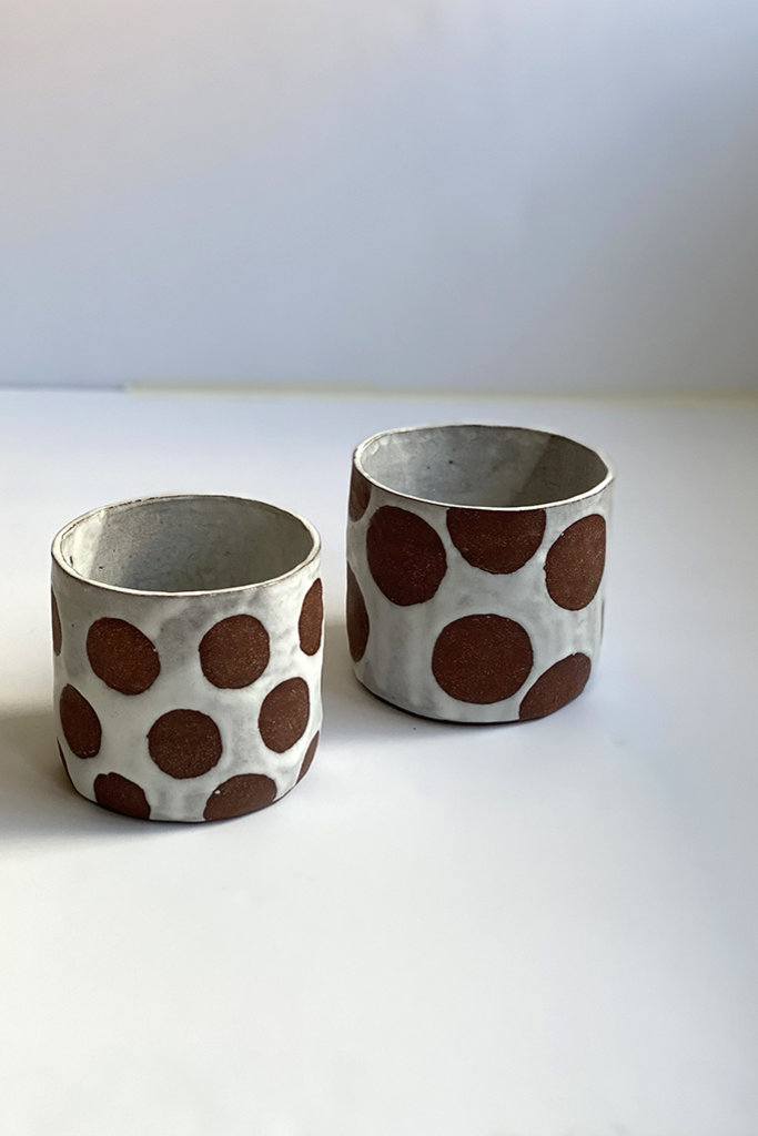 Alice Cheng Studio Small Dots Planter