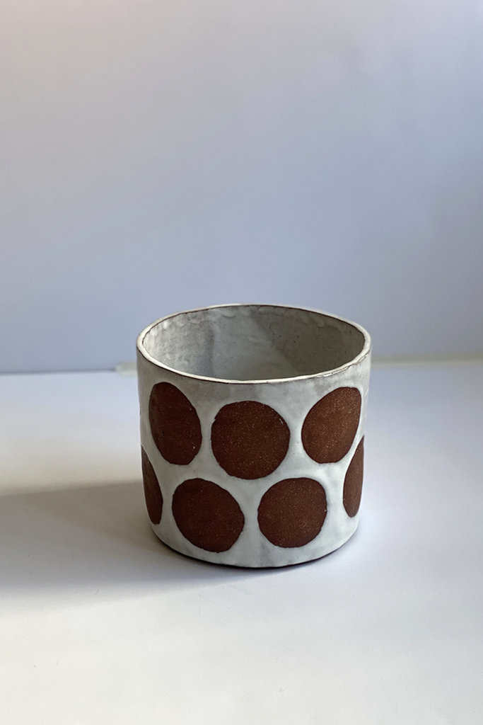 Alice Cheng Studio Large Dots Planter