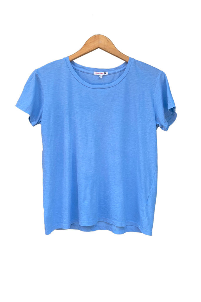 Sundry Vintage Feel Pima Cotton Tee - Two Colors