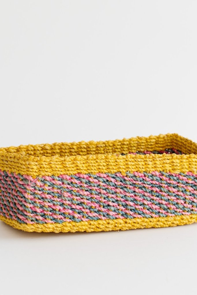neepa hut Woven All Purpose Tray - Assorted Colors