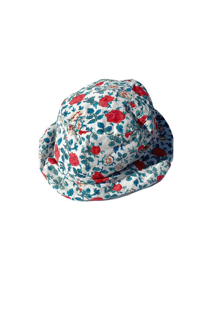 Manuelle Guibal Bob Packable Hat in Flowers