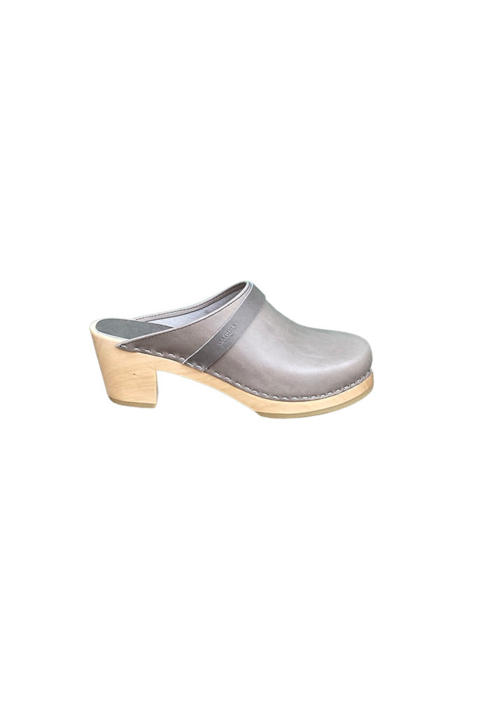Maguba Stockholm Mid Clog Light Grey
