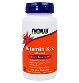 NOW Foods Now Foods, Vitamin K-2 100mcg, 100 VCapsules