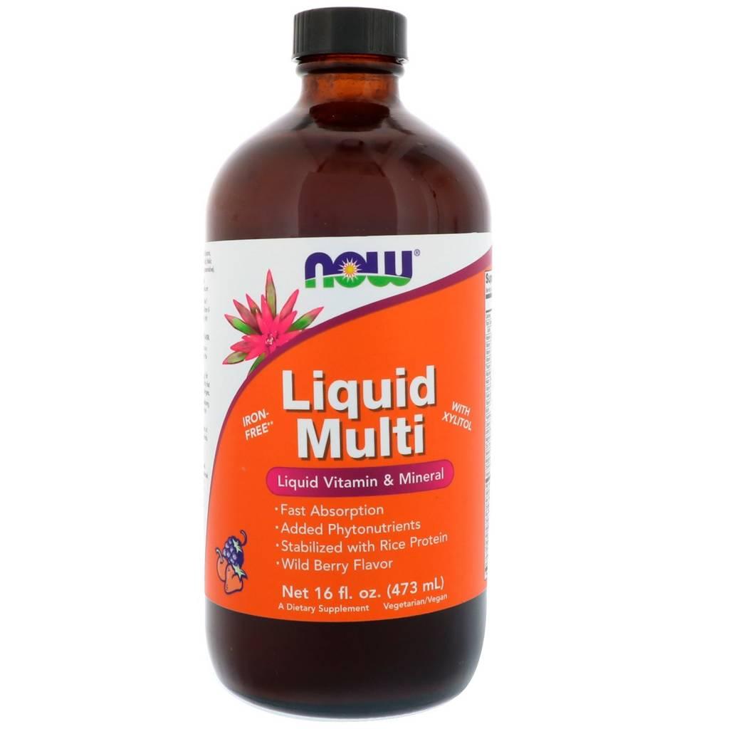 NOW Foods Now Foods, Liquid Multi