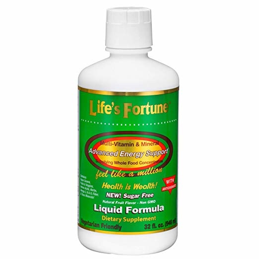 Life's Fortune Life's Fortune Multi-Vitamin Liquid, 32 Servings