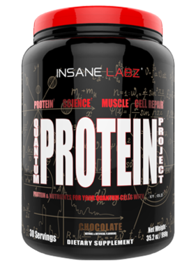 Insane Labz Quantum Project Protein, chocolate, 30 servings