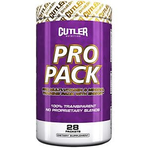 Cutler Nutrition Cutler Pro Pack, 28 Packets