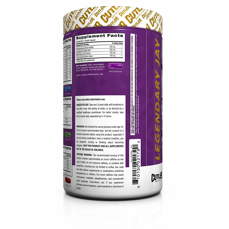 Cutler Nutrition Cutler Pro Pack, 28 Packets