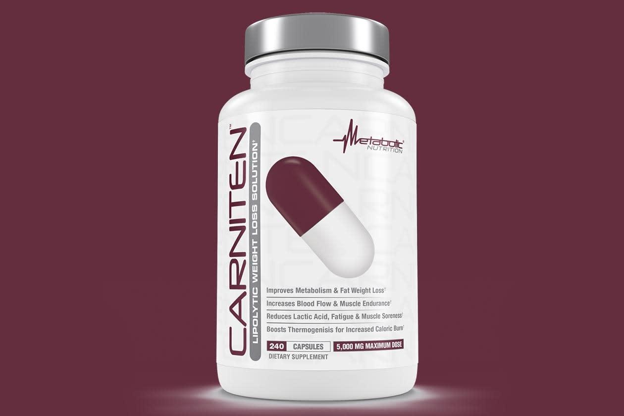 Metabolic Nutrition Metabolic Nutrition, Carniten 240cap