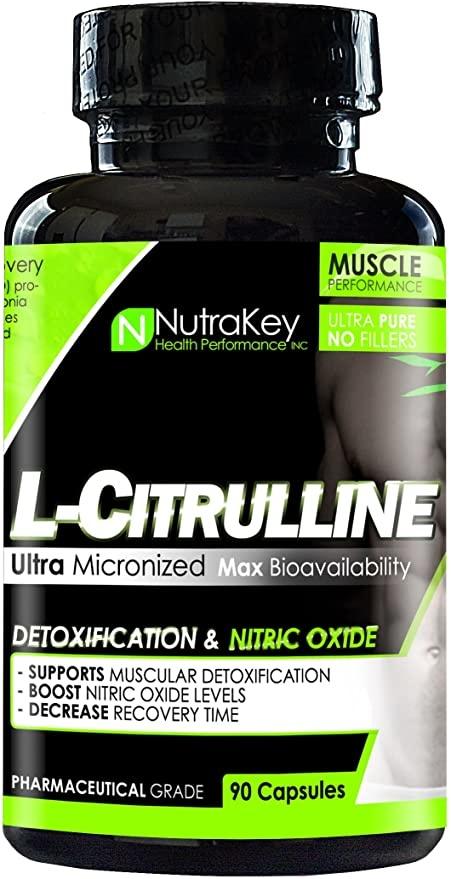 NutraKey L-Citrulline, 90 Capsules