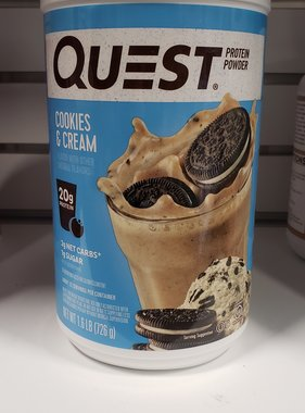 Quest Nutrition Quest Protein, Cookies n Cream, 1.6lb