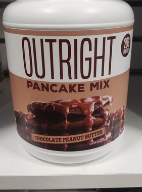 MTS Outright Pancake Mix, 2lb, Chocolate Peanut Butter