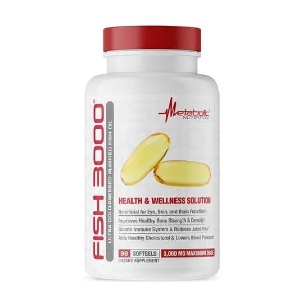 Metabolic Nutrition Metabolic Nutrition, MCT 3000, 90 Caps