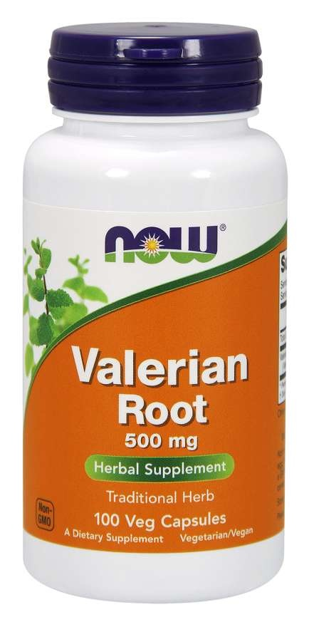 NOW Foods NOW, Valerian Root 500mg, 100cap
