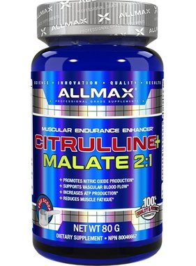 AllMax Nutrition AllMax, L-Citrulline Malate 2:1, 40 Servings