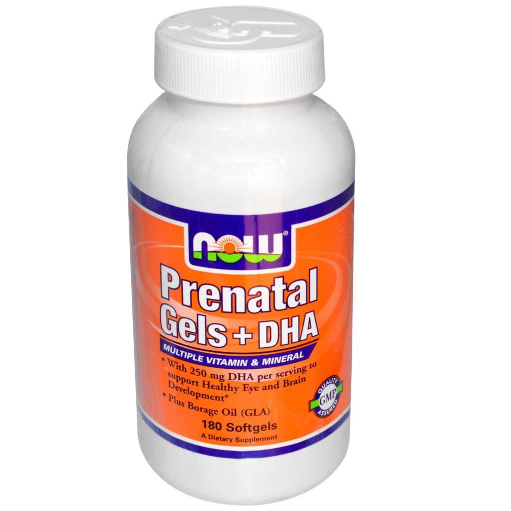 NOW Foods Now Foods, PrenatalGels + DHA