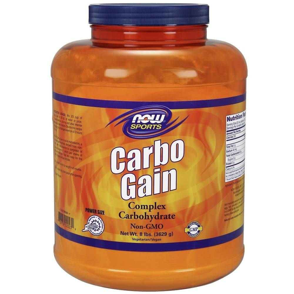 NOW Sports Now Foods, Carbo Gain