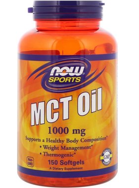 NOW Foods Now Foods, MCT Oil, 1000 mg., 150 gels