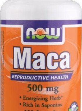 NOW Foods Now Foods, Maca 500 mg, 100 Capsules