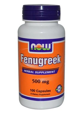 NOW Foods Now Foods, Fenugreek 500mg, 100 Capsules