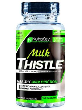 NutraKey Milk Thistle 250mg, 100 Capsules