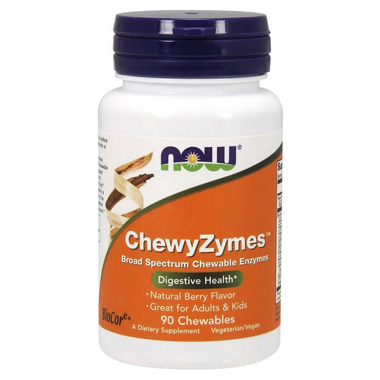 NOW Foods Now Foods, ChewyZymes, Berry , 90 Chewables