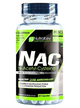 NutraKey Nutrakey, NAC 600mg, 60 capsules