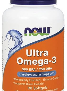 NOW Foods Now Foods, Ultra Omega-3 , 90 capsules