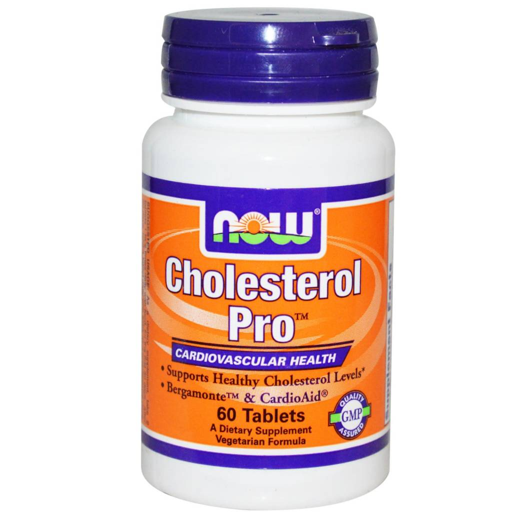 NOW Foods Now Foods, Cholesterol Pro, 60 tablets
