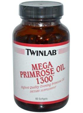 TwinLab TwinLab, Mega Primrose Oil 1300, 60 Softgels