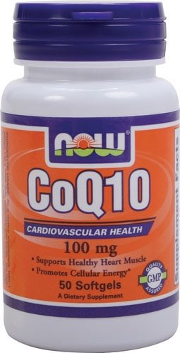 NOW Foods Now Foods, CoQ10 100 mg NOW