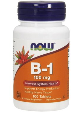 NOW Foods Now Foods, B-1 100mg., 100 Tablets