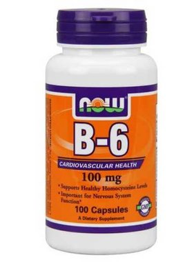NOW Foods Now Foods, B-6 100mg