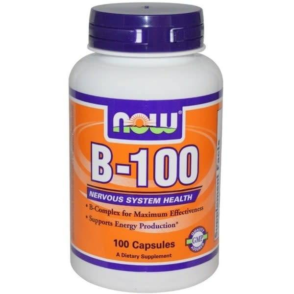 NOW Foods Now Foods, B-100mg., 100 Tablets