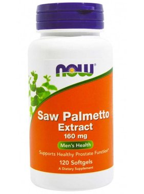 NOW Foods Now Foods, Saw Palmetto Extract 160mg