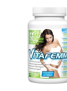 AllMax Nutrition AllMax, VitaFemme Multivitamin 21Day 30 Tablets