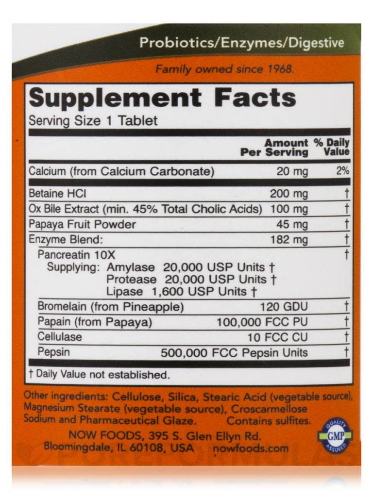 NOW Foods Now Foods, Super Enzymes