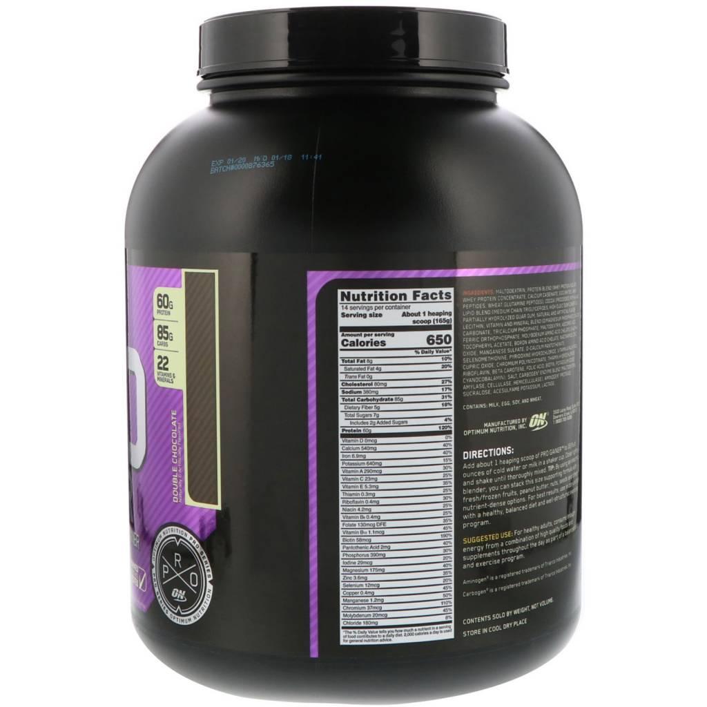 Pro Complex Gainer - Nutrition Warehouse