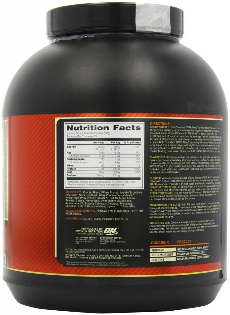 565197f86 ... Optimum Nutrition Gold Standard Whey ...