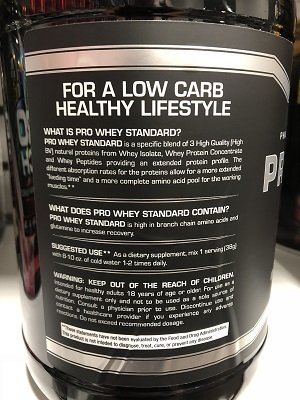 Carolina Sports Nutrition 100% Pro Whey