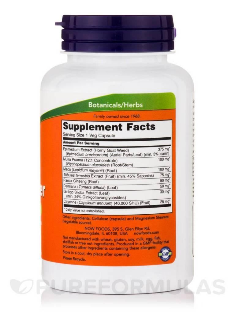 NOW Foods Now Foods, Men's Virility Power, 120 veg capsules