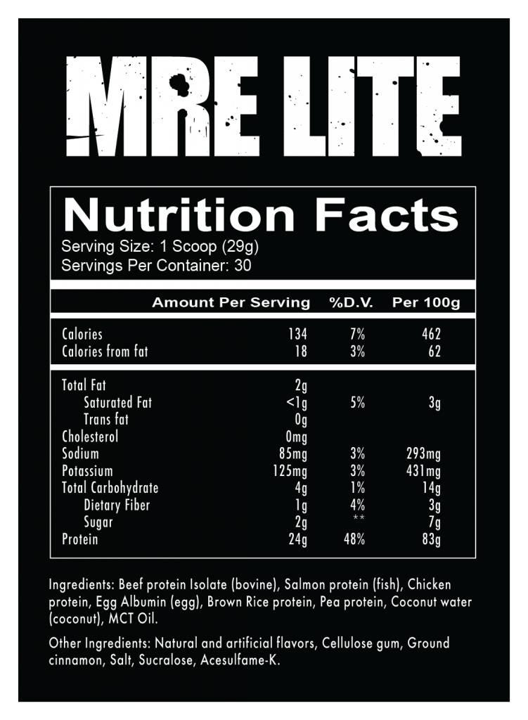 RedCon1 MRE Lite