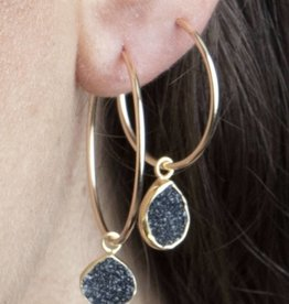 Erin Marcus Dripping Lava Hoops