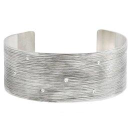 Michelle Simon Jewelry Horizon Cuff - Mist