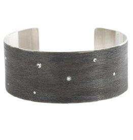 Michelle Simon Jewelry Horizon Cuff - Noir