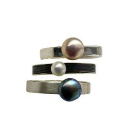 Michelle Simon Jewelry Petite Ocean Ring - Satin, Peacock