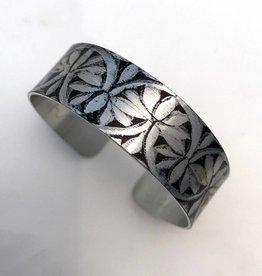Nancy Reid Carr Thin Cuff - Aluminum