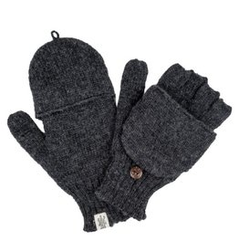 Nirvanna Designs Bryant Fingerless Gloves with Flap
