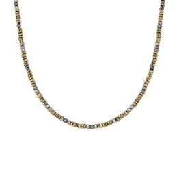 """Anna Beck Pyrite Beaded Necklace, 12-14"""""""